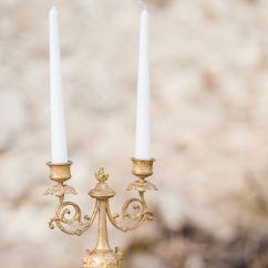 Beautiful, vintage candleholders