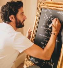 Calligraphy & chalkboard art