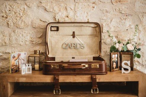 Our vintage suitcase